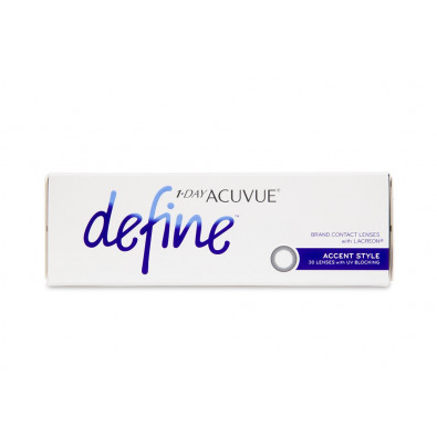 1 Day Acuvue Define Accent Style 30 Pack