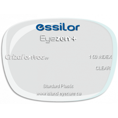 Essilor Eyezen 1.50 Crizal UV with Optifog