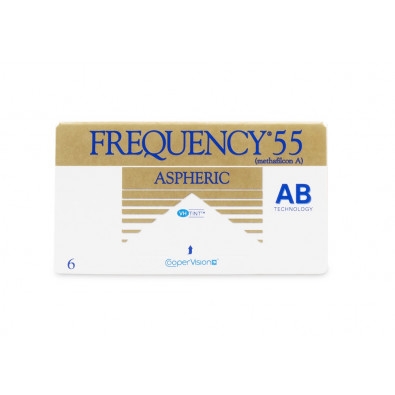 Frequency 55 Aspheric (Dia 14.4) 6 Pack