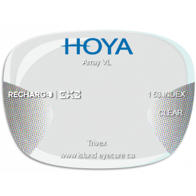 Hoya Array VL Trivex Recharge