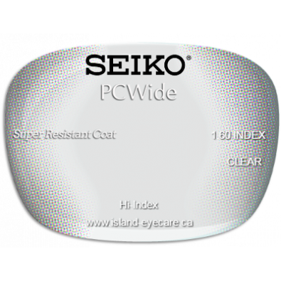 Seiko PCWide 1.60 Super Resistant Coat