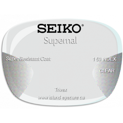 Seiko Supernal Trivex Super Resistant Coat