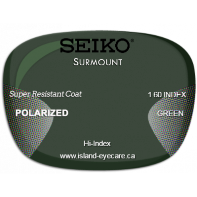 Seiko Surmount 1.60 Super Resistant Coat Seiko Polarized - Green
