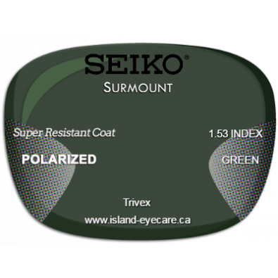 Seiko Surmount Trivex Super Resistant Coat Seiko Polarized - Green