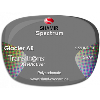 Shamir Spectrum 1.59 Glacier AR Transitions XTRActive - Gray