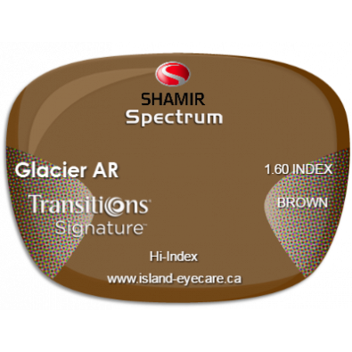 Shamir Spectrum 1.60 Glacier AR Transitions Signature - Brown