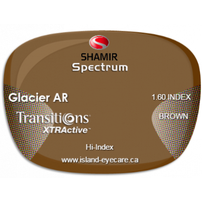 Shamir Spectrum 1.60 Glacier AR Transitions XTRActive - Brown