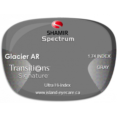Shamir Spectrum 1.74 Glacier AR Transitions Signature - Gray