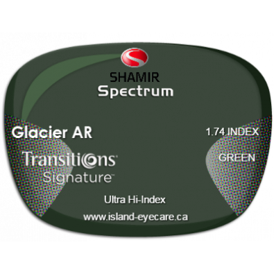 Shamir Spectrum 1.74 Glacier AR Transitions Signature - Green