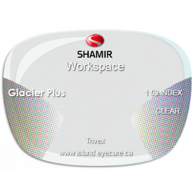 Shamir Workspace Trivex Glacier Plus