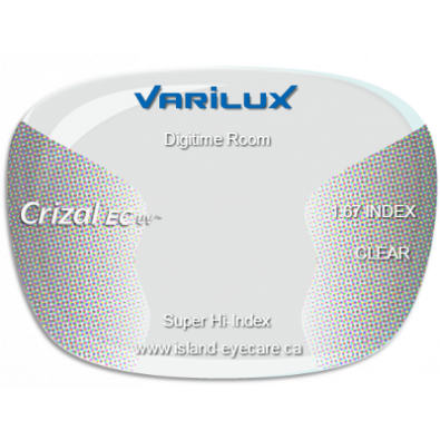 Varilux Digitime Room 1.67 Crizal EC UV