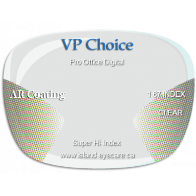 VP Choice Pro Office Digital 1.67 AR Coating