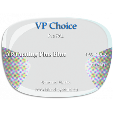 VP Choice Pro PAL 1.50 AR Coating Plus Blue