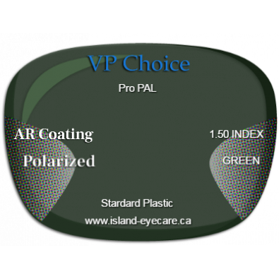 VP Choice Pro PAL 1.50 AR Coating Polarized - Green