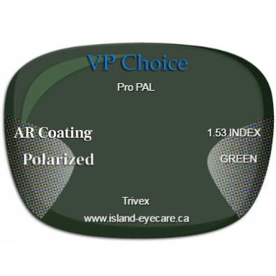 VP Choice Pro PAL Trivex AR Coating Polarized - Green