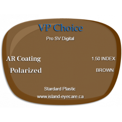 VP Choice Pro SV Digital 1.50 AR Coating Polarized - Brown