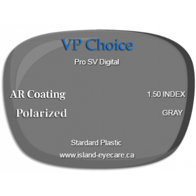 VP Choice Pro SV Digital 1.50 AR Coating Polarized - Gray