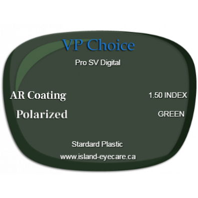 VP Choice Pro SV Digital 1.50 AR Coating Polarized - Green
