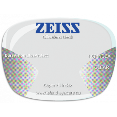Zeiss Officelens Desk 1.67 DuraVision BlueProtect