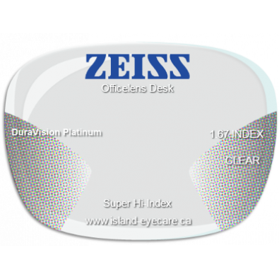 Zeiss Officelens Desk 1.67 DuraVision Platinum